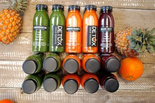 Detox Juice Bar juice range