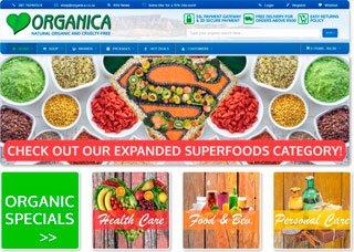 Organica online store