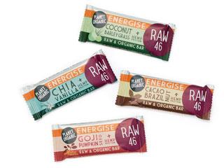 Planet Organic snack bars