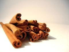 Cinnamon sticks - photo courtesy of Jozsef Szoke at Stock.Xchng