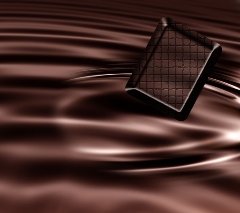 Dark liquid chocolate - photo courtesy of ilker at Stock.Xchng