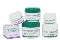 Down to Earth's all natural products