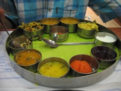 South Indian food - hot and spicy - photo courtesy of Varmamukul at Stock.Xchng