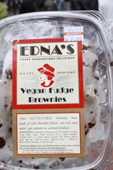 Vegan Fudge Brownies from the USA. Photo courtesy of Carey Finn