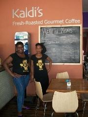 Kaldi's Coffee Shop, Newtown, Johannesburg. Photo courtesy of Satya Bhat