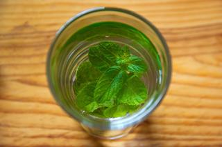 Mint water by The Media Image