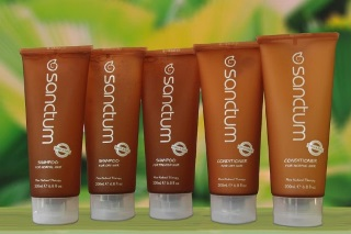 Sanctum hair care range from Harmless House