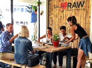 Scheckter's RAW cafe in Sea Point