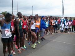 The Tembisa Run, December 2012 - photo by Satya Bhat