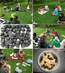 Vegan Society picnic at Zoo Lake, Johannesburg. Photo courtesy of Satya Bhat
