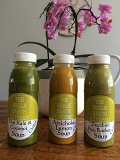 The Whole Earth Kitchen soup range
